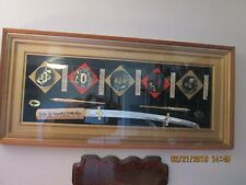Samurai Sword shadow Box Local pick up only
