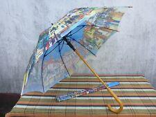 gebrauchter Regenschirm Städteschirm Motiv Stadt Metzingen Gomaringer Verlag