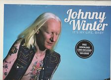 Johnny Winter It's My Life,Baby 180 Gram Stereo Lp Sealed Record Store Day