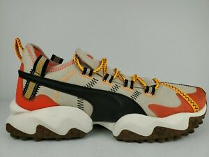 Puma X First Mile Erupt Trail Running Shoes Men Size 9.5 EUR 42.5 Orange/Tan