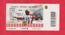 Orig.Ticket   Europa League  2009/10  TROMSÖ IL - ATHLETIC CLUB BILBAO  !!