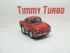 O ERTL FORD MUSTANG 1965 IN RED DRAG TOONED LITTLE MUSCLE 80 MM LONG RARE