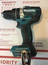 "New Makita Brushless 18V XPH12 1/2"" Hammer Drill 18 Volt Li-Ion Tool Only"