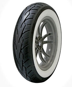 Whitewall Motorcycle Tires Tubes 130 90 16 Rear Tire For Sale Ebay