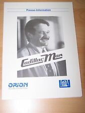 CADILLAC MAN - Presseheft ´90 - Robin Williams TIM ROBBINS