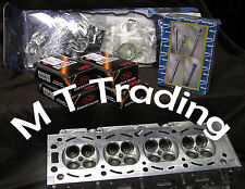 Holden C20SEL / C22SEL Petrol NEW Cylinder Head KIT Vectra inc- valves VRS bolts