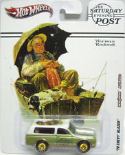 HOT WHEELS NOSTALGIA: 2012 THE SATURDAY EVENING POST: '70 CHEVY BLAZER 1:64