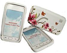 Design No. 5 en silicone tpu handey Cover Case sac pour samsung i9000 galaxy s