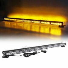 "44"" LED Amber Warning Emergency Beacon Response Double Side Strobe Light Bar 84W"