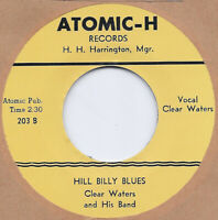 R&B REPRO: ATOMIC -CLEAR WATERS - HILLBILLY BLUES/ BOOGIE WOOGIE BABY