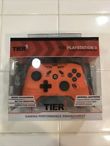Tier1 -Sony Playstation 3 - 10 Foot Wired Controller - Macro Programming