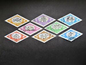1964 Rumänien Mi-Nr. RO 2309-2316 Komplettsatz gestempelt Olymp.Spiele Tokio