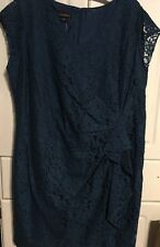 Metaphor Lace Overlay Cap Sleeve Dress Size 20W NWT