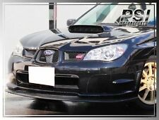 2006-2007 Subaru Imperze WRX STI GDF Carbon Fiber STI Style Front Add-On Lip