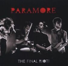 PARAMORE - the FINAL RIOT - NEW LIVE CD & DVD