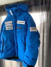 "DESCENTE  AUDi/ SWISS.Com SPONSORS. SKI COAT UK XL 44""-46"" WARM PADDED DOWN USED"