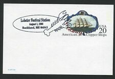LOBSTER. PICTORIAL COMMEMORATIVE POSTMARK
