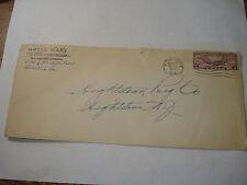 HOTEL WAR Waycross GA 1931 AD COVER Decatur HIGHSTOWN Rug Co. carpet Company NJ