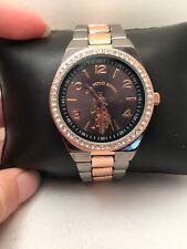 U.S. Polo Assn. Women's Analog Quartz Watch Two Tone BAND ROSE GOLD USC40265-H72 | eBay