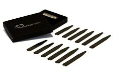Magnetic collar stays by Dapper Man - 6 pairs, 3 Sizes in one pack
