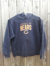 Chicago Bears Nfl American Football Reebok Hoodie Size Youth 10-12