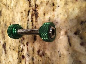 Seat Post Binder Clamp Nut and Bolt Aluminum with Titanium Hardware Bicycle