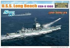 U.S.S. LONG BEACH (CGN-9 1980) CYBER-HOBBY/DRAGON 1/700 PLASTIC KIT
