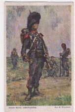 Armee Belge, Grenadier Wagemans WW1 Art Postcard B716
