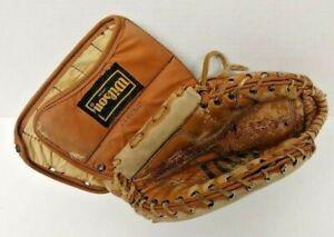 Vintage Wilson Hockey Goalie Double Leather Left Hand Wearer Glove H-8341 Rare
