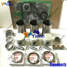 3T84HL 3T84HLE 3T84HTLE-TB Overhaul Rebuild Kit For Yanmar Engine Piston Gasket