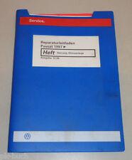Werkstatthandbuch VW Passat B5 Heizung Klimaanlage Stand 12/1999
