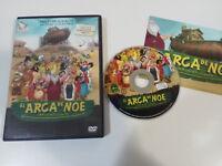 EL ARCA DE NOE QUE LLEGA EL DILUVIO DVD ANIMACION CASTELLANO PORTUGUES
