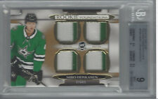 MIRO HEISKANEN 2018-19 THE CUP ROOKIE FOUNDATIONS PATCHES 2/10 #F-MH BGS 9