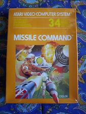 Missile Command - Atari 2600 - Nuevo - Precintado - New Sealed