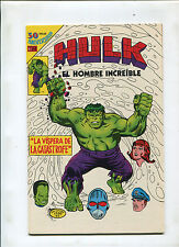 MEXICAN INCREDIBLE HULK YEAR 1 #3-11 (9.2) VERY HARD TO FIND!