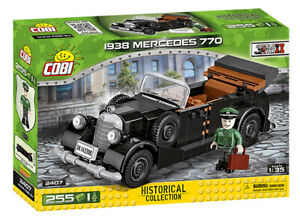 COBI TOYS #2407 Historical Collection WWll 1938 Mercedes 770