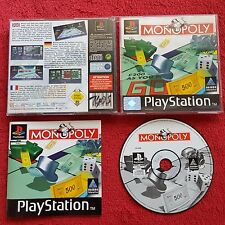 MONOPOLY ORIGINAL BLACK LABEL PLAYSTATION PSONE PS1 PS2 PAL