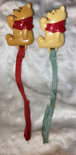 Vintage The First Years Winnie The Pooh Pacifier Clips  Adorable!!