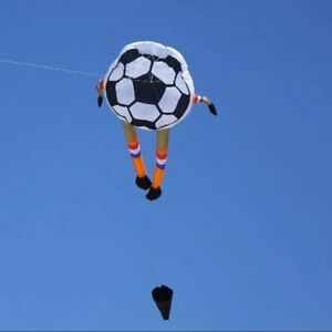 Large  2m football soft kite adults Outdoor fun Sports beach kites