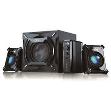 GENIUS SW-G2.1 2000 2.1 / 45 W SPEAKER SYSTEM WITH SUBWOOFER / RCA & JACK INPUT