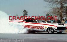 """RAMCHARGERS"" Leroy Goldstein 1971 Dodge Challenger NITRO Funny Car PHOTO!"