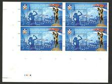 SERBIA-MNH BLOCK OF 4 BLOCKS-EUROVISION SONG CONTEST , BELGRADE 2008