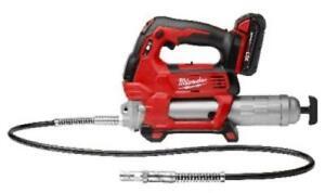 Milwaukee Electric Tools 2646-21CT Milwaukee M18 Cordless 2-speed Grease Gun W/