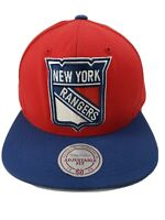 New York Rangers Mitchell and ness   Vintage collection snapback hat
