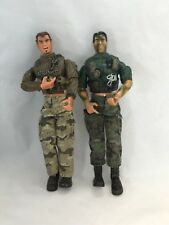 2 Military Action Figures by Lanard Toys 2003 12""