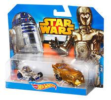 Hot Wheels Disney Star Wars 2pk Die Cast Character Cars Vehicles Toys Age 3 C-3po/r2-d2