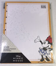 The Happy Planner Minnie Mouse Classic Block Pad Paper Magic Begins