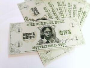 Schrute Bucks - The Office Dwight Schrute Dunder Mifflin Michael Scott Gift Card
