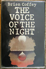 Voice of the Night Brian Coffey Dean R Koontz (1980) 1st ed hc dj inscribed