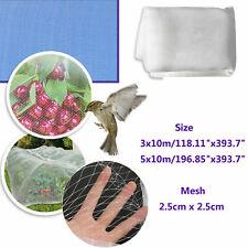 Anti Bird Netting Net Mesh Poultry Aviary Game Crop Plant Veg Garden Protection